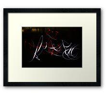 Dancing Lights Framed Print