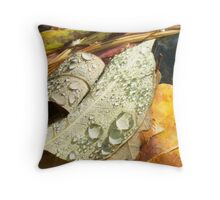 Turtletown Creek West Falls V Leaf Detail Throw Pillow