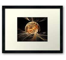 'Thought Bubble' Framed Print