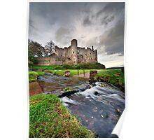 Castle stream Poster