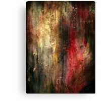 Fall Abstract Acrylic Textured Painting Canvas Print