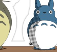 Totoro Nesting Dolls Sticker