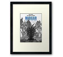 Midgar Framed Print