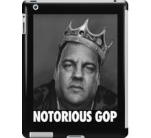 Notorious GOP Chris Christie iPad Case/Skin