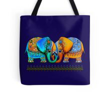 Littlest Elephant Love Links Tote Bag