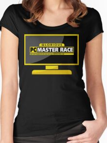 PC Master Race - Monitor Complex Women's Fitted Scoop T-Shirt