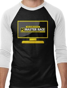 PC Master Race - Monitor Complex Men's Baseball ¾ T-Shirt