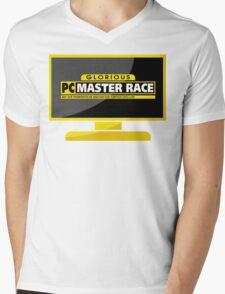 PC Master Race - Monitor Complex Mens V-Neck T-Shirt