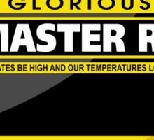 PC Master Race - Monitor Complex Sticker