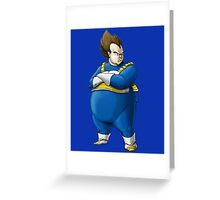 Mc Vegeta Greeting Card
