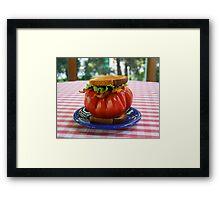 The Tomato Lover's BLT Framed Print