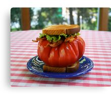 The Tomato Lover's BLT Canvas Print