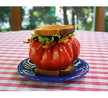 The Tomato Lover's BLT Photographic Print