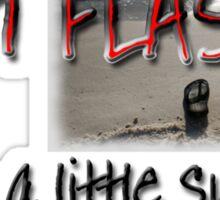 Hot Flash - NOT! Sticker