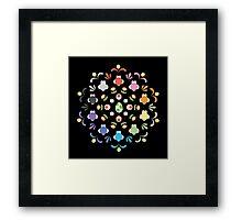 Yoshi Prism Framed Print