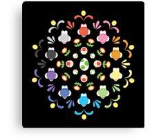Yoshi Prism Canvas Print