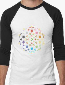 Yoshi Prism Men's Baseball ¾ T-Shirt