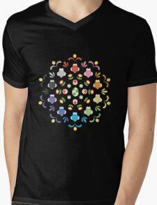 Yoshi Prism Mens V-Neck T-Shirt