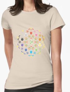 Yoshi Prism Womens Fitted T-Shirt