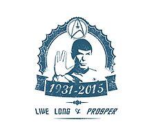 Spock - Leonard Nimoy by kramprusz