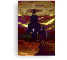 Zelda: Return to Ganon's Tower Canvas Print