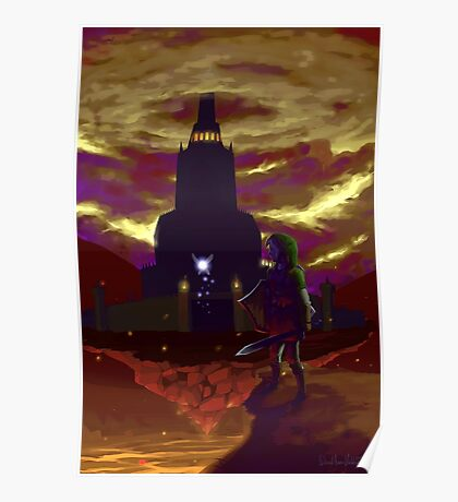 Zelda: Return to Ganon's Tower Poster