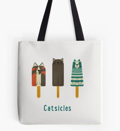 Catsicles Tote Bag