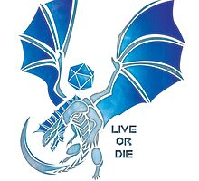 Live or Die - Silver by Kaegro