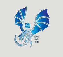 Live or Die - Silver Unisex T-Shirt