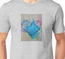 Heart in Blue Unisex T-Shirt