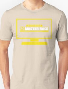PC Master Race - Monitor Transparent T-Shirt
