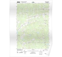 Maine USGS Historical Map Stetson 20110906 TM Poster