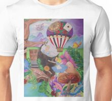 Through the Rabbit Hole Unisex T-Shirt