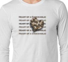 Heart of a Choco-holic Long Sleeve T-Shirt