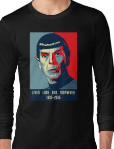 Spock - Lived long and prospered Long Sleeve T-Shirt
