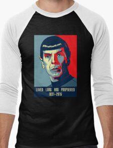 Spock - Lived long and prospered Men's Baseball ¾ T-Shirt