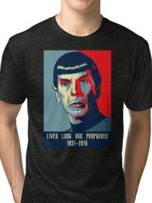 Spock - Lived long and prospered Tri-blend T-Shirt