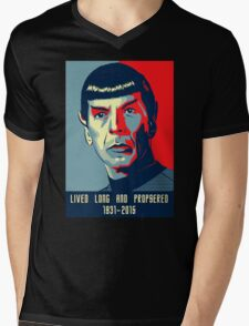 Spock - Lived long and prospered Mens V-Neck T-Shirt