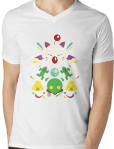 Fantasy Cuteness Mens V-Neck T-Shirt