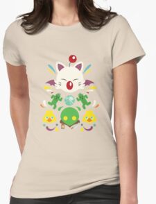 Fantasy Cuteness Womens Fitted T-Shirt
