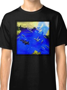 Fishes swimming  Classic T-Shirt