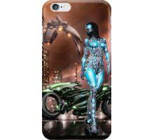 Cyberpunk Painting 047 iPhone Case/Skin