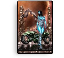 Cyberpunk Painting 047 Canvas Print