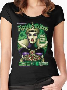 The Evil Queen's Apple Bites Women's Fitted Scoop T-Shirt