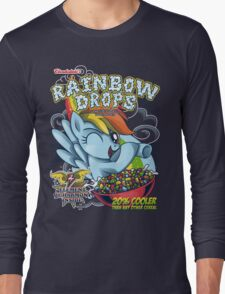Rainbow Drops - Total Awesome! Long Sleeve T-Shirt