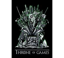 Throne of Games - You Win Or You Die - V2 Photographic Print