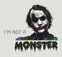 the joker - i'm not a monster by hottehue
