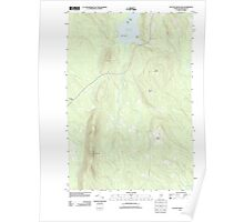 Maine USGS Historical Map Stetson Mountain 20110829 TM Poster
