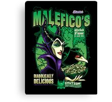 Malefico's - Wicked Flavor In Each Bite! Canvas Print