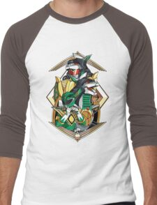 Green Legend Men's Baseball ¾ T-Shirt